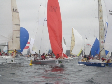 Hobart Race Start